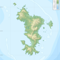 Mayotte – topographic