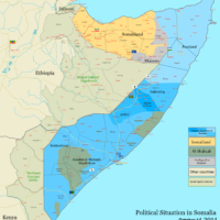Somalia – political situation (October 2014)