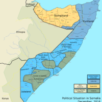 Somalia – political situation (December 2016)