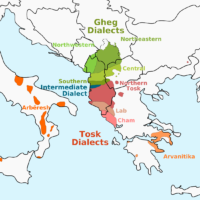 Albania – Albanian dialects
