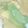 Iraq – topographic