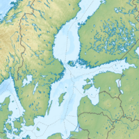 Baltic Sea – topographic