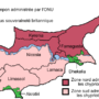 Cyprus – northern and southern districts (de facto)