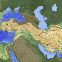 Empire of Alexander the Great at its peak (-334 -323)