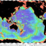 World – Oceans: bathymetric
