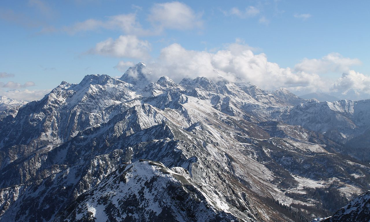 Mount Agepsta, Abhkazia