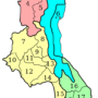 Malawi – administrative districts