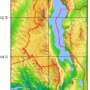 Malawi – topographic