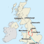 United Kingdom – high speed train (projects)