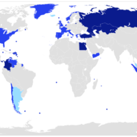World – Transcontinental countries