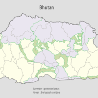 Bhutan – protected areas