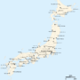 Japan – city names transliterated