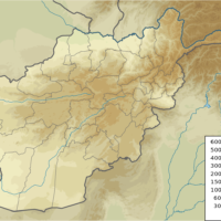 Afghanistan – topographic