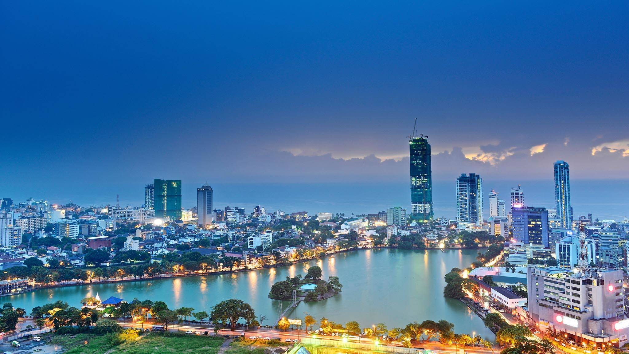 Colombo, capital of Sri Lanka