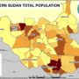 South Sudan – Density (2008)