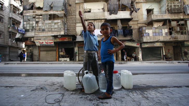 48 million children through wars, natural disasters and emergencies
