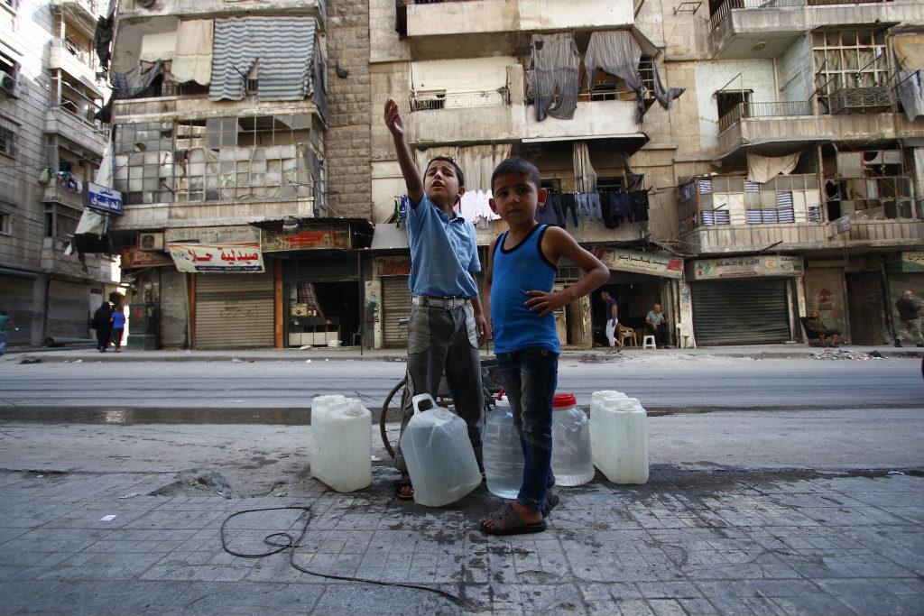 Children, Aleppo, Syria