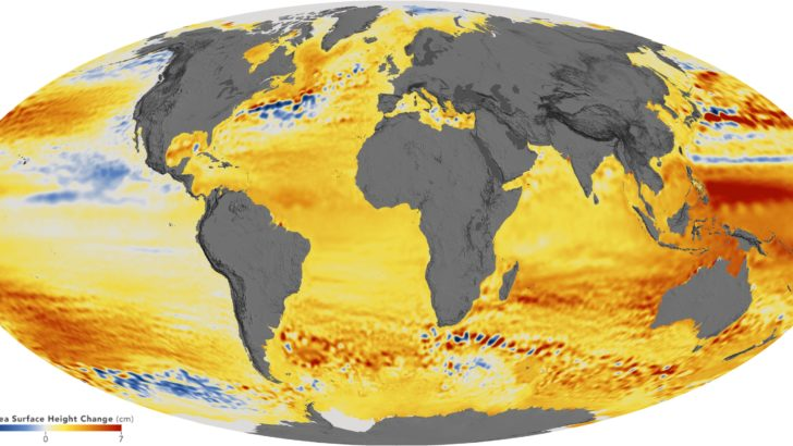 Rising sea levels are accelerating