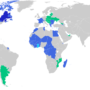 World – Francophonie: Member Countries