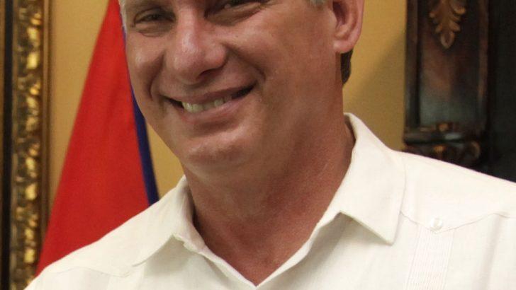 Miguel Díaz-Canel, new president of Cuba