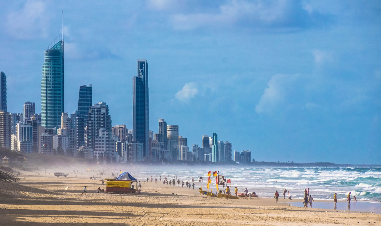 Gold Coast skyline, Australia
