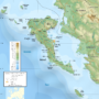 Greece – Corfu: topographic