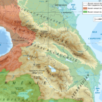 Caucasus – Drainage basins
