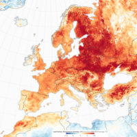Europe – Temperatures anomaly (February 2019)