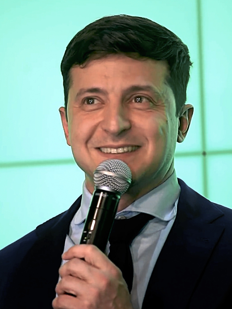 Volodymyr Zelensky, 31 March 2019