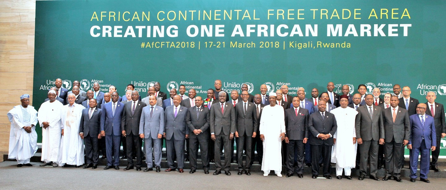 Signature of the AfCFTA, Kigali, March 2018