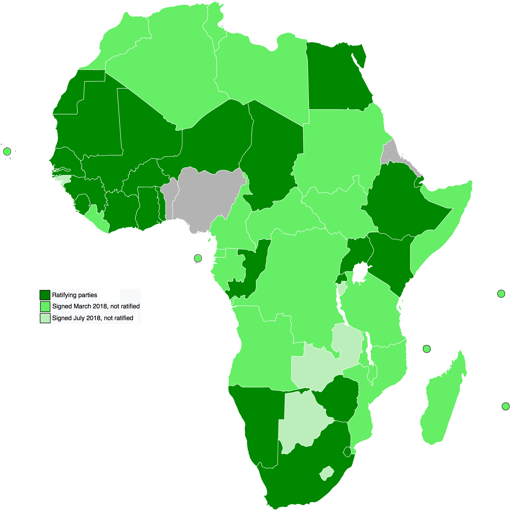 Africa - African Continental Free Trade Agreement (AfCFTA)