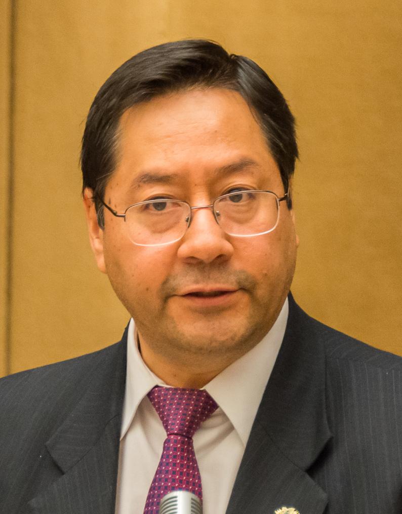 Luis Arce, President of Bolivia