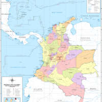 Colombie – administrative