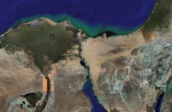 Égypte - Isthme de Suez