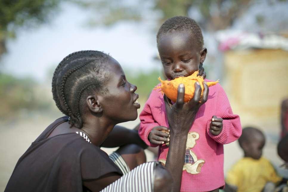 HCR réfugiés 2016, Soudan du Sud