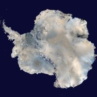 Antarctique – satellite