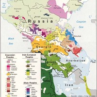 Caucasus – Ethnic groups
