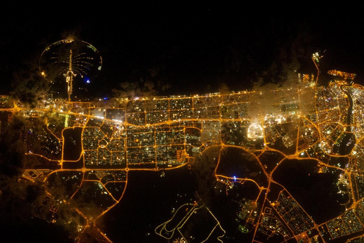 Émirats arabes unis - Lumières de Doubaï.