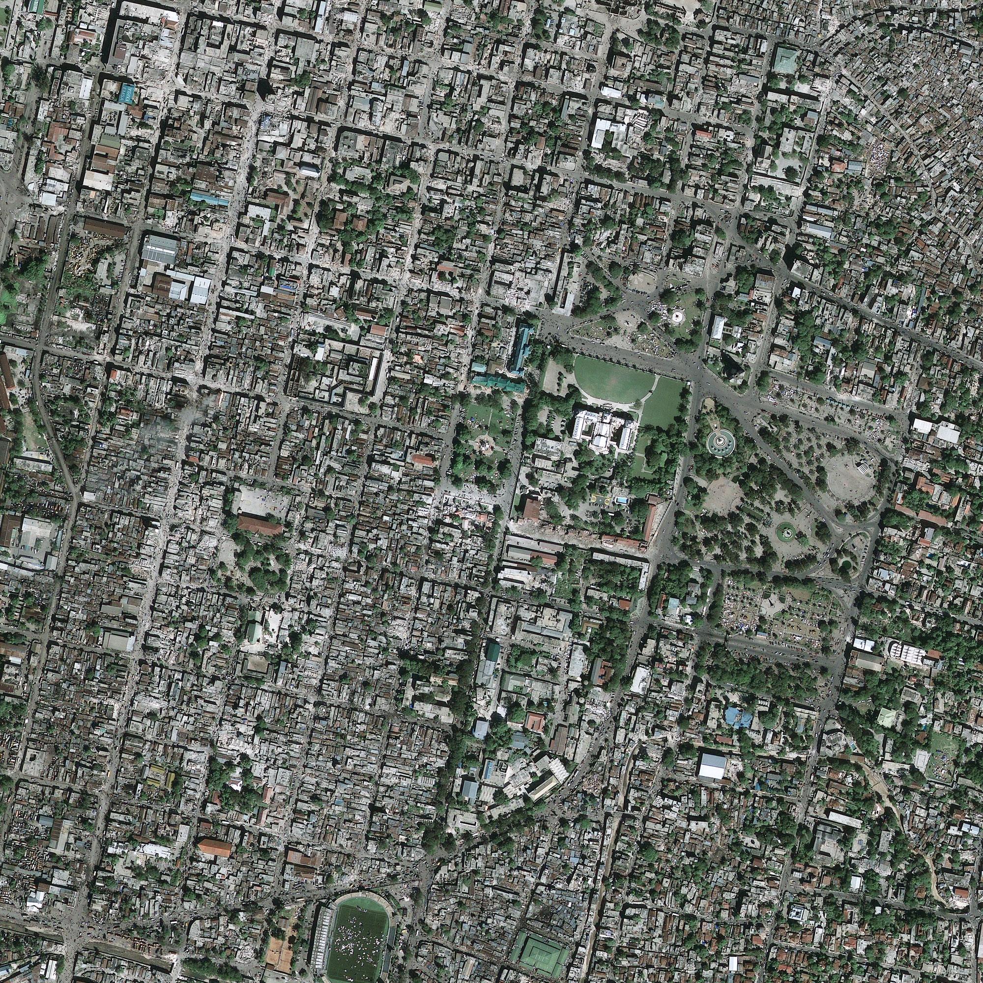 Haïti - Port-au-Prince après le séisme (13 janvier 2010)