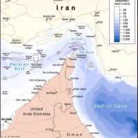 Strait of Hormuz: United Arab Emirates – Iran – Oman