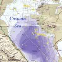 Caspian Sea – Oil reserves