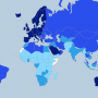 World – Human Development Index – HDI (2014)