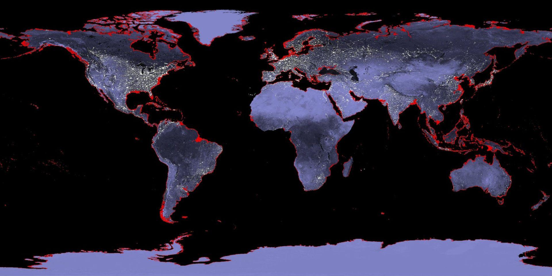 Monde - Océans : 6 mètres d'élévation