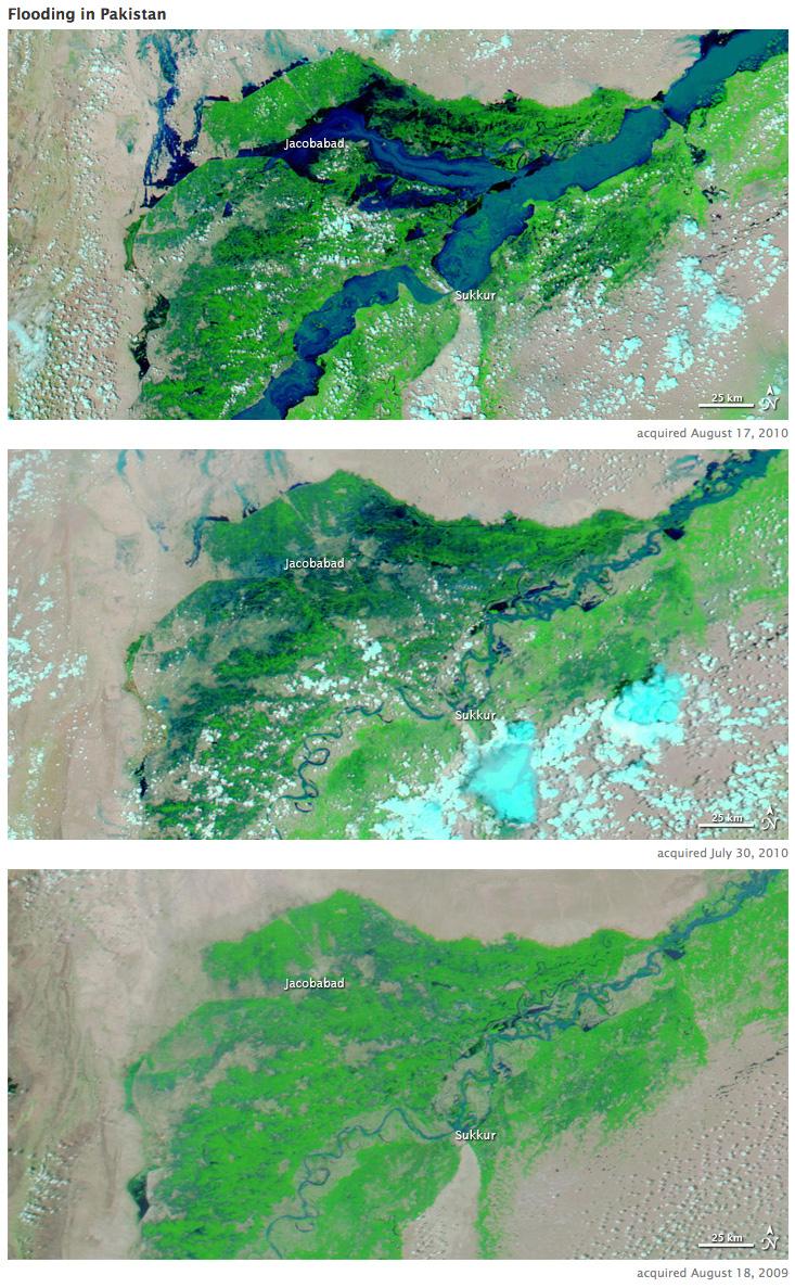 Pakistan - Inondations (août 2010)