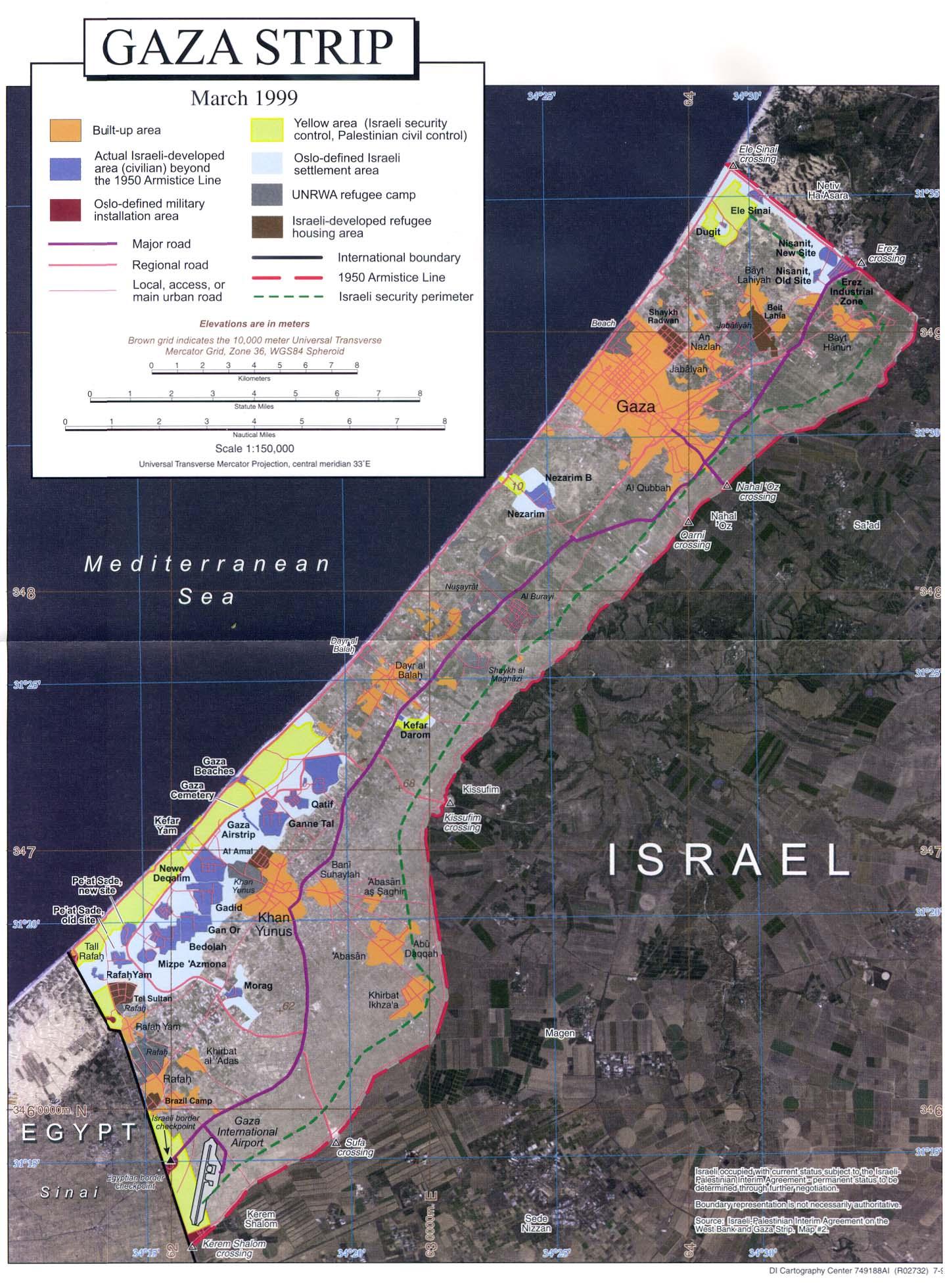 Palestine - Gaza (1999)