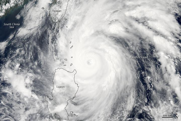 Philippines - Typhon Songda (27 mai 2011)