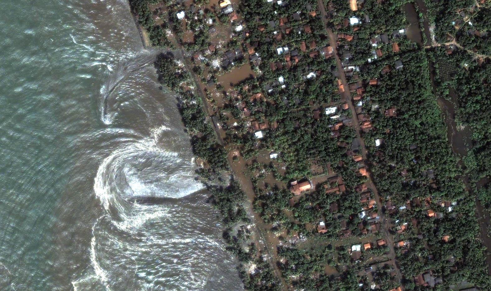 Sri Lanka - Kalutara (Tsunami, 26 décembre 2004)