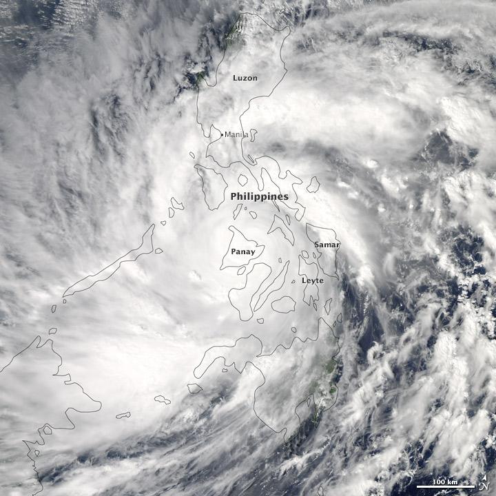 Typhon Haiyan, Philippines